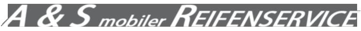 A&S mobiler Reifenservice